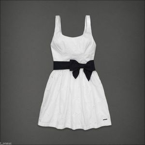 Abercrombie & Fitch Alicia Eyelet Dress